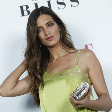 Anoche Sara Carbonero se convirtió en una de las protagonistas en los premios Elle Gourmet en la embajada de Italia