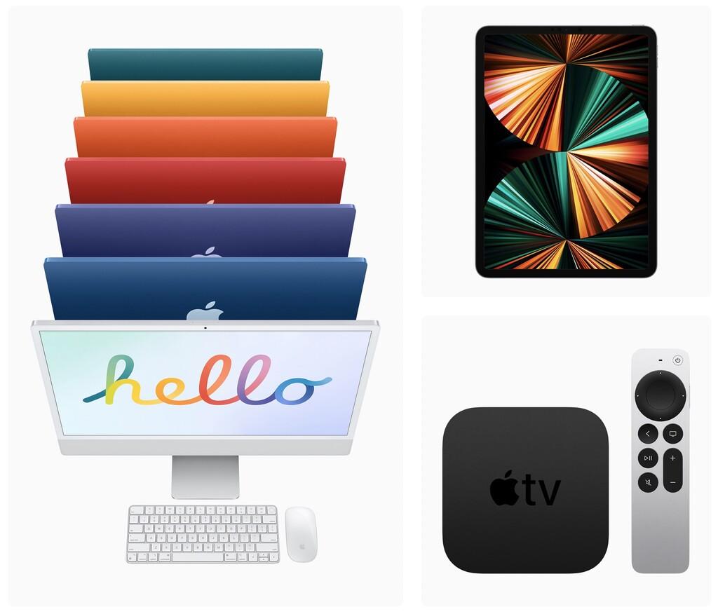 Apple reafirma el 21 de mayo como día de lanzamiento de los recientes iMac, iPad Pro y Apple™ TV 4K