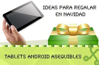 Seis tablets Android por menos de 200 euros para regalar en Navidad