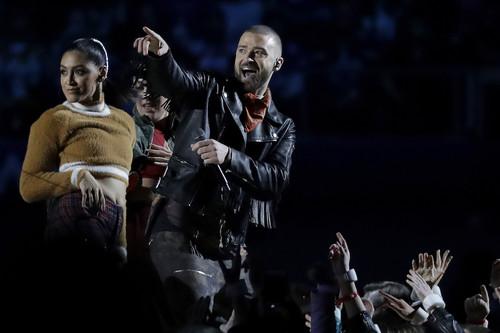 Justin Timberlake, Pink y Cindy Crawford protagonistas del espectáculo de la Super Bowl LII 2018