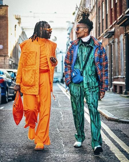El Mejor Street Style De La Semana London Fashion Week Mens Trendencias Hombre 05