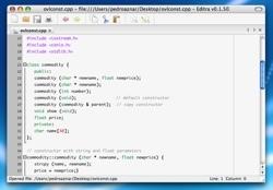 Editra: Otro editor de código preparado para más de 30 lenguajes de programación