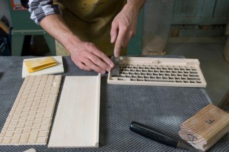 teclado de madera orée