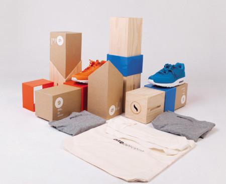 Envoltorio de diseño para las zapatillas exclusivas One Percent
