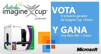 Ganadores del concurso Imagine Cup de Microsoft en el club Genbeta