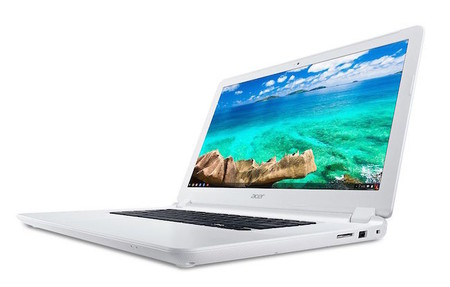 Acer Chromebook 15 Cb5 571 White Front Angle Start 0
