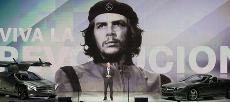 Mercedes-Benz se mete en un lío por un fotografía del Che Guevara