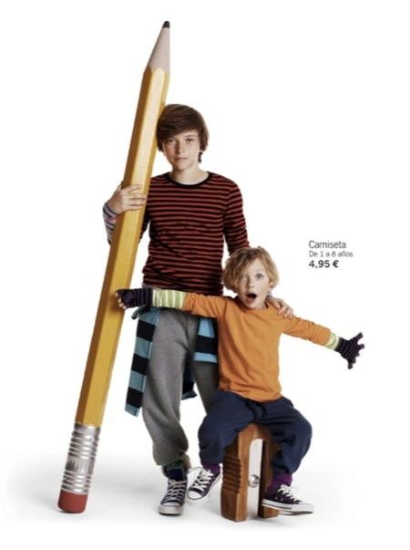 H&M viste a los niños en su vuelta al cole con su colección Otoño-Invierno 2010/2011