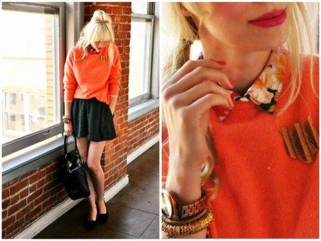 Naranja Coury Combs estilo