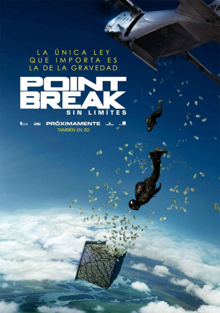 El póster español de Point Break (Sin Límites)