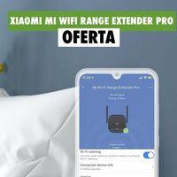 Cobertura WiFi en toda tu casa, por menos de 10 euros, con este Xiaomi Mi WiFi Range Extender Pro rebajado en MediaMarkt