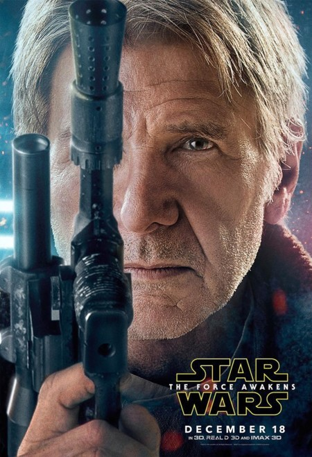 'Star Wars: El Despertar de la Fuerza', nuevos carteles de los protagonistas