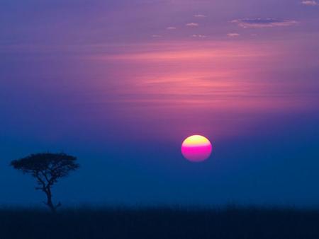 Atardecer Botswana