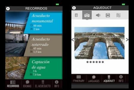 Acueducto se Segovia Aplicación