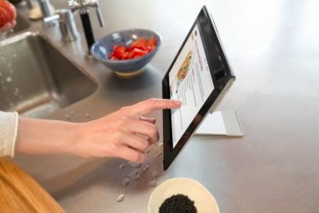 Sony Xperia Tablet S se puede mojar