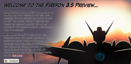 Firefox 3.5 Preview ya se puede probar