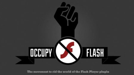 Occupy Flash, el simpático movimiento que pretende acabar con Flash Player