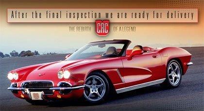 CRC, el Corvette del '62 actualizado