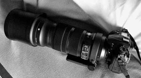 La unidad que hemos probado montado sobre una Nikon D7000