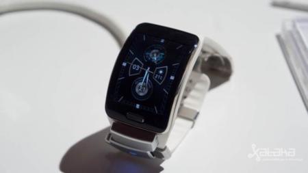 Samsung Gear S, toma de contacto