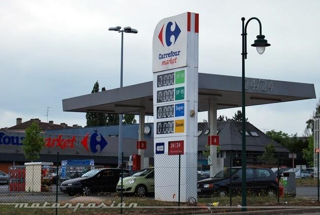 Gasolinera en Francia