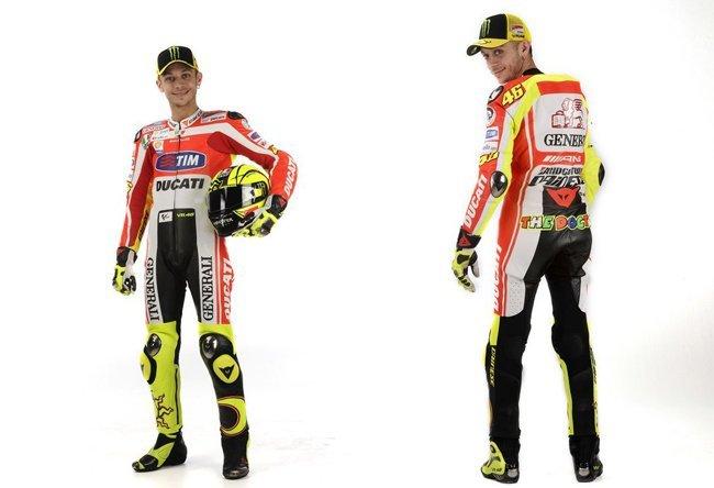 Así lucirá Valentino sobre la Ducati