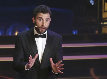 Dani Rovira presentará por tercera vez la gala de los Premios Goya