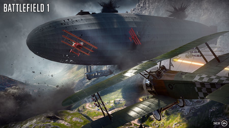 Battlefield 1 Dirigible