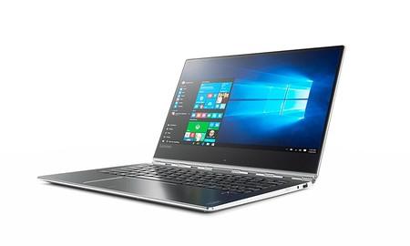 Potente y con pantalla táctil, hoy el Lenovo Yoga 910-13IKB sólo cuesta 899 euros en Amazon