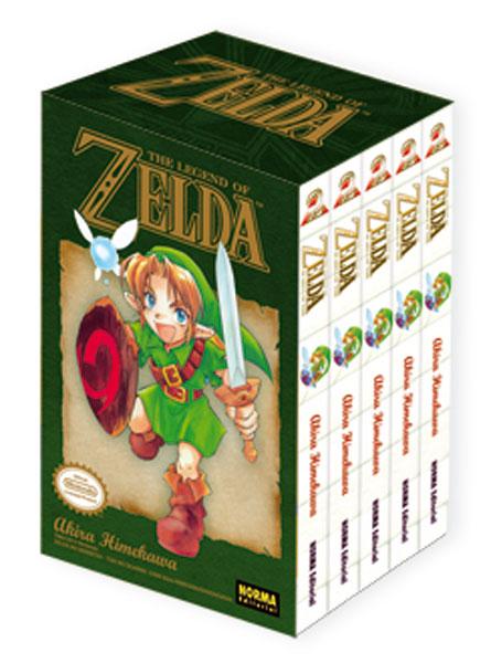 Pack The Legend Of Zelda 1 (tomos 1 a 5)
