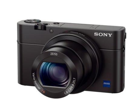 Sony RX100 III de frente