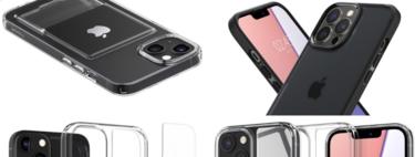 Varios fabricantes de fundas publican rénderes de los iPhone 13 antes de su lanzamiento