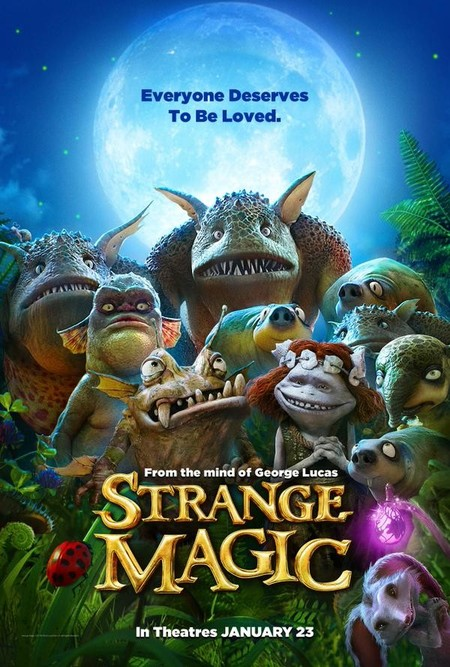 Cartel de Strange Magic