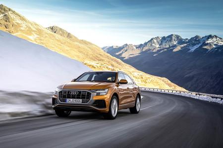 El SUV insignia de Audi, el Q8, estrena V6 gasolina de 340 CV con sistema mild hybrid
