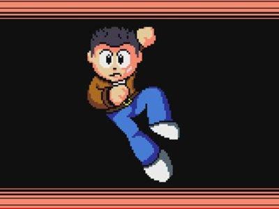 Así hubiera sido Shenmue en el universo de Mega Man