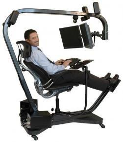 MYPCE, silla y soporte para el PC
