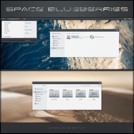 Space Blueberries By Neiio Dah05az