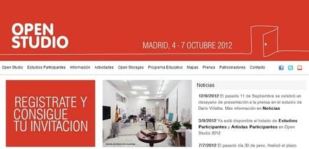 Open Studio Madrid, o la posibilidad de conocer el lugar de trabajo de un artista