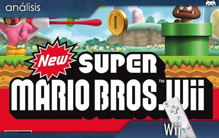 'New Super Mario Bros. Wii'. Análisis
