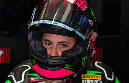 Ana Carrasco tendrá que operarse y dice adiós a sus opciones en Supersport 300 esta temporada