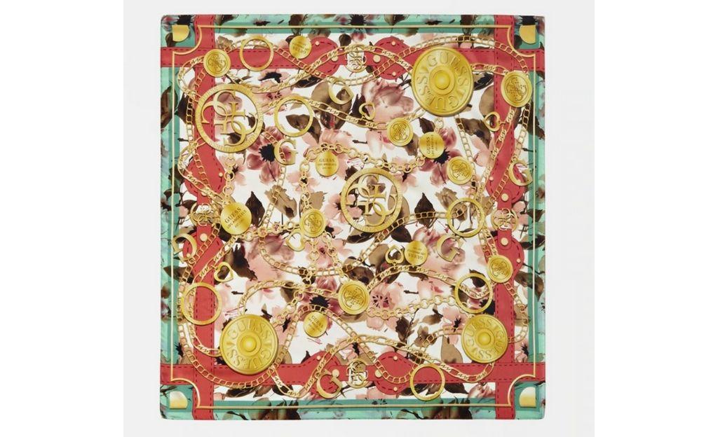 Pañuelo Guess con print combinado multicolor