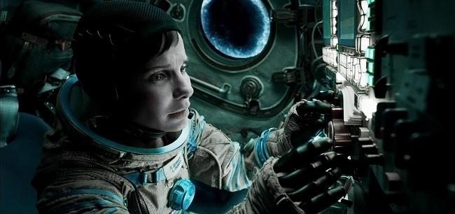 Imagen de Sandra Bullock en 'Gravity'