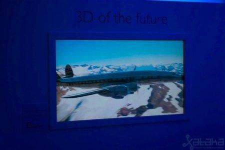 Televisor 3D sin gafas