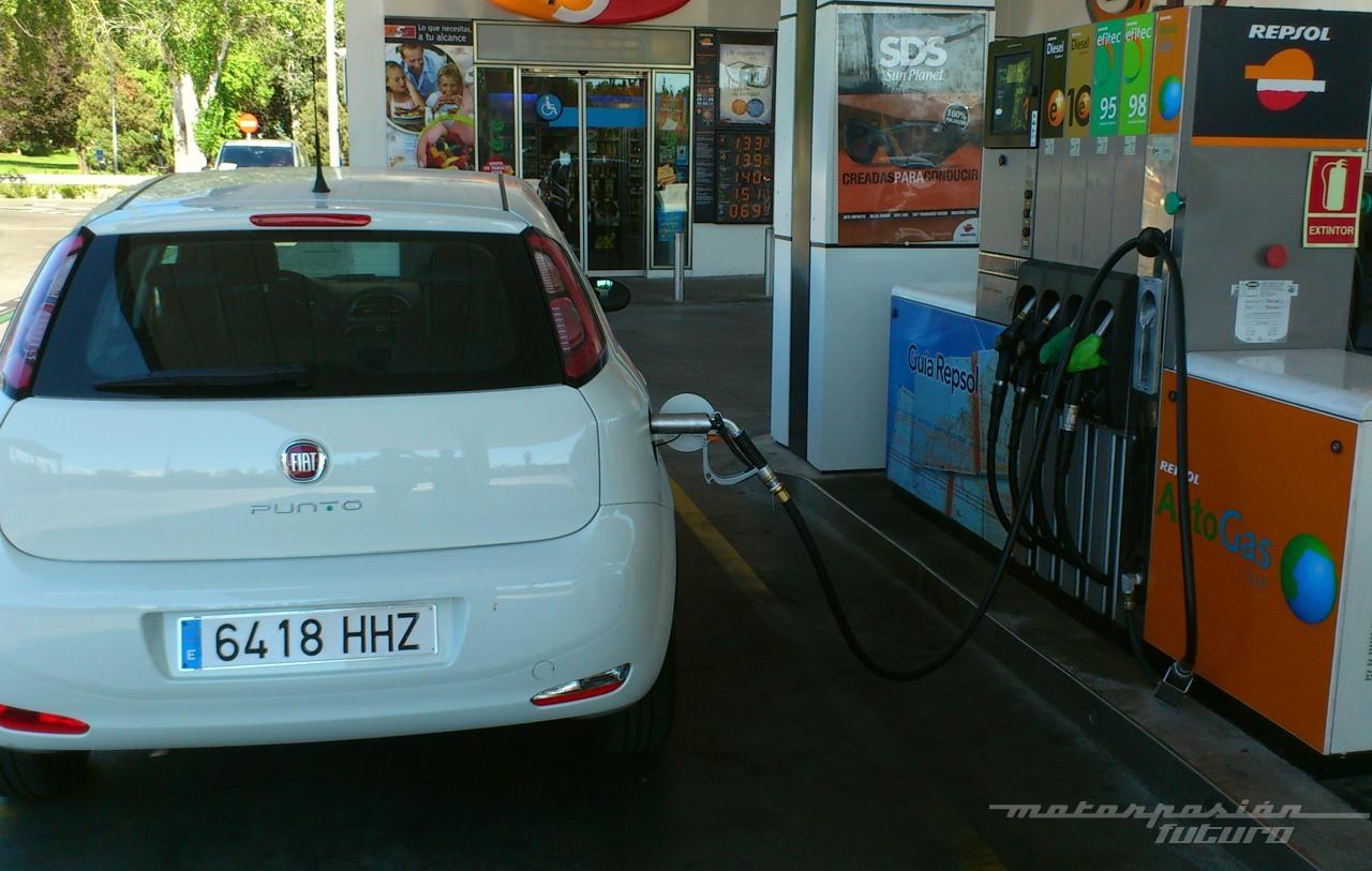Foto de Fiat Punto GLP (prueba) (4/27)