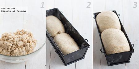 Pan integral para el Día Mundial del Pan. Receta paso a paso