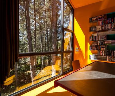 Casa Levene, una casa a la venta integrada en el bosque