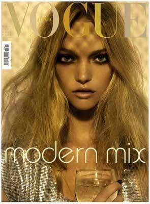 Gemma Ward para Vogue Italia