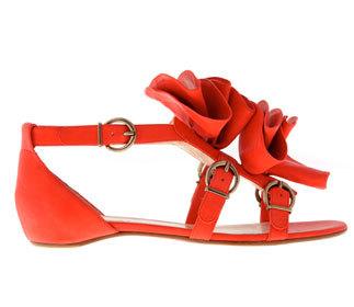 Sandalia Louboutin, sandalia glamour