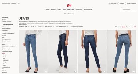 H M Pantalones