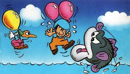 Ya está disponible en Wii U el clásico de NES 'Balloon Fight'